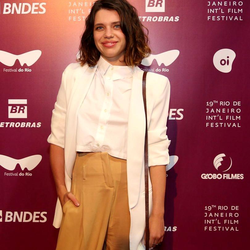 Bruna Linzmeyer, atriz e jurada da mostra Novos Rumos, do Festival do Rio (Foto: Marina Calderon e Rogerio Resende - Divugação)