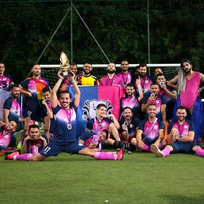 Bharbixas, de Minas, foram os vencedores da primeira edição da Champions LiGay (Foto: Reprodução)