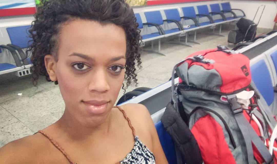 """Natasha Roxy, Híbridx: """"Fui até a fronteira com a mochila cheia e R$5 no bolso"""""""