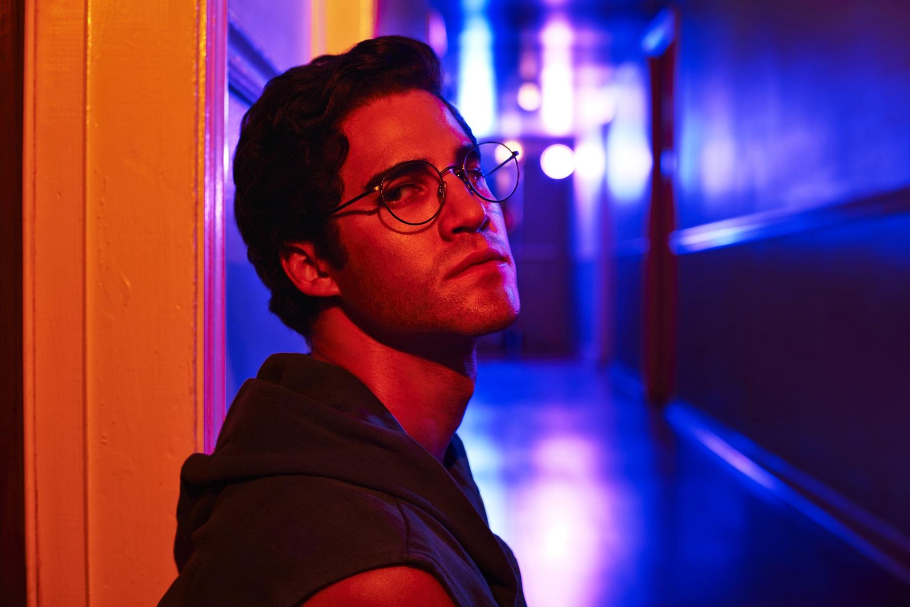 """Darren Criss como o serial killer Andrew Cunanan em """"American Crime Story"""" (Foto: Divulgação)"""
