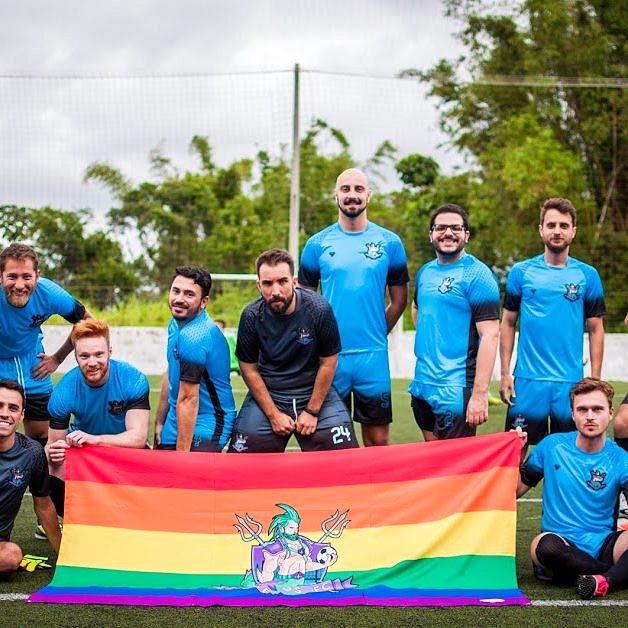 Equipe dos Sereyos FC, time formado recentemente que competiu na Ligay (Foto: Reprodução Facebook)