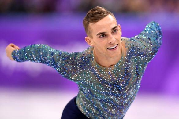 Adam Rippon aproveitou a visibilidade das Olimpíadas para criticar o vice-presidente Mike Pence (Foto: Harry How | Getty Images)