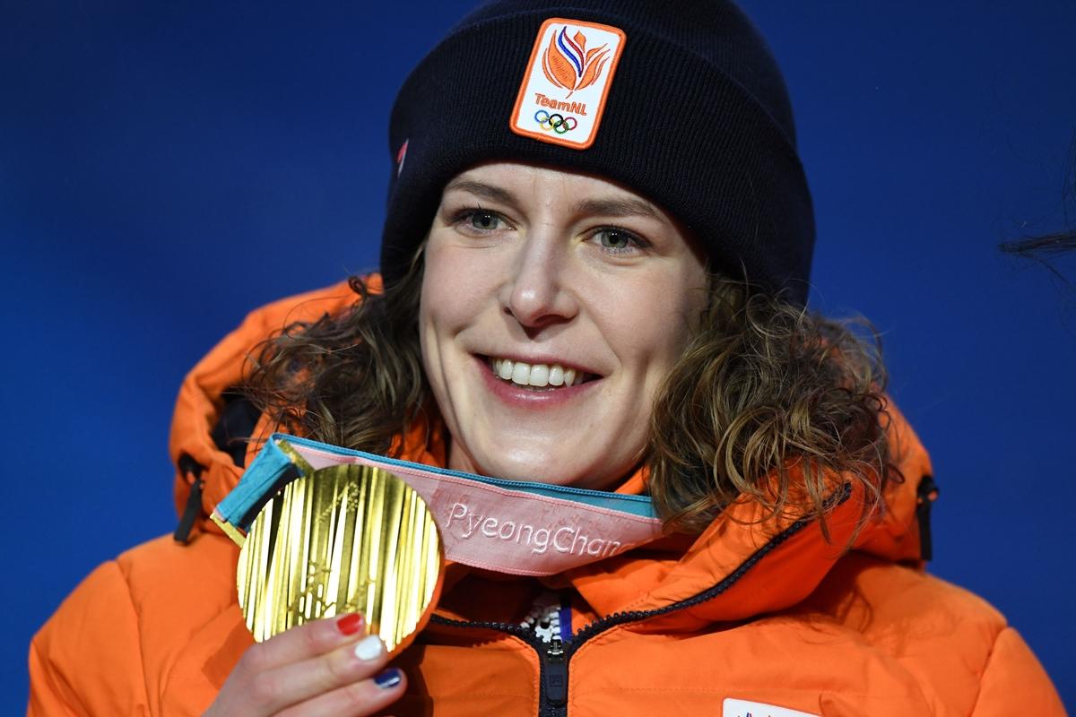 Ireen Wüst: atleta LGBT recordista de medalhas nas Olimpíadas (Foto: Kirill Kudryavstev   AFP   Getty Images)