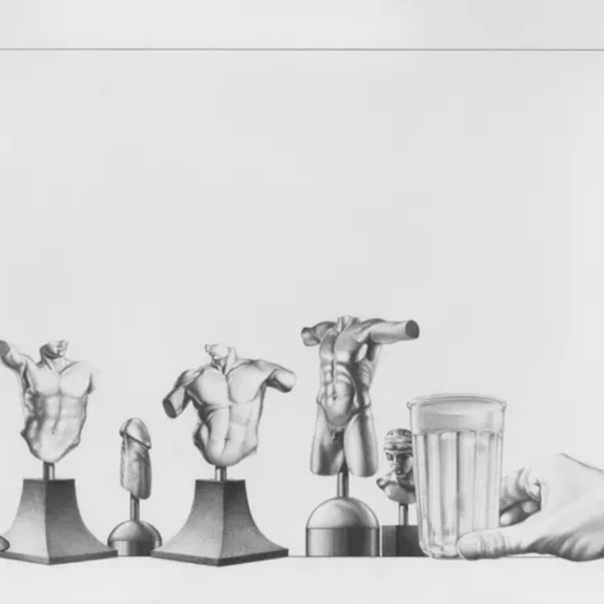 """""""Sem título"""", de Mário Röhnelt (1983) (Foto: Reprodução)"""
