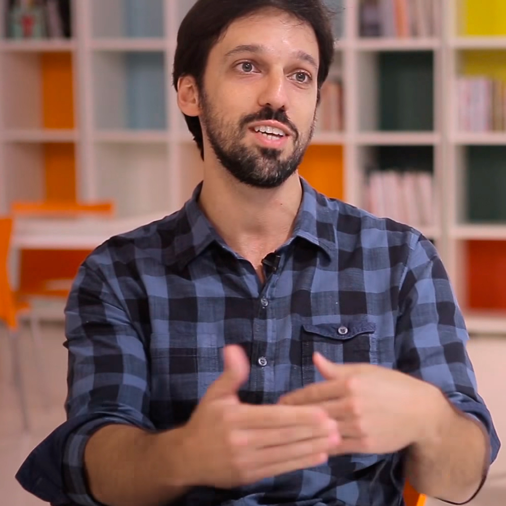 """Murilo Farah, um dos fundadores da Benfeitoria, reforça a importância de trazer o """"Queermuseu"""" por financiamento coletivo: """"É algo que atinge um campo muito maior"""" (Foto: Reprodução)"""