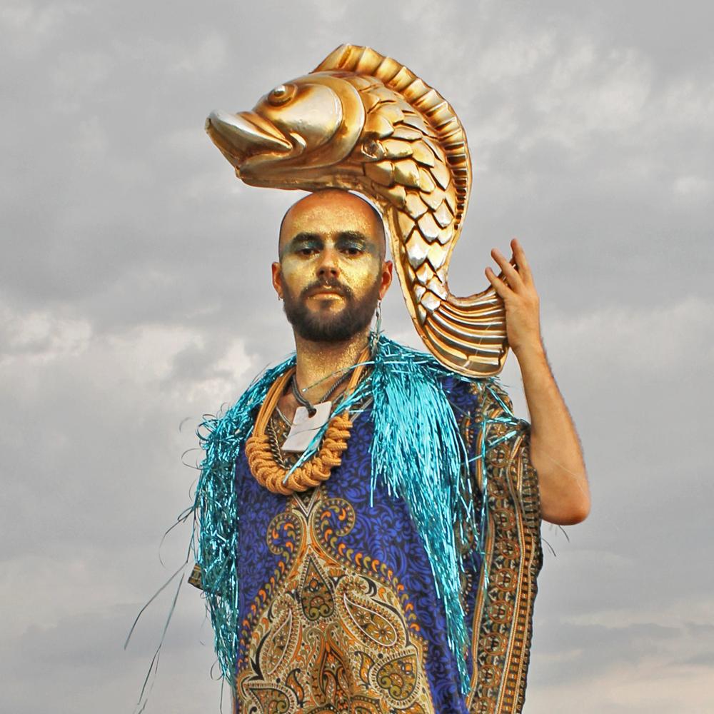 Felipe Braga é responsável pelos achados de produção do Sereias (Foto: Roberta Clapp)