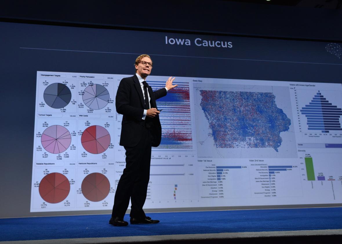 Alexander Nix foi afastado do SLC Group após escândalo envolvendo a compra de dados pela Cambridge Analytica (Foto: Divugação)