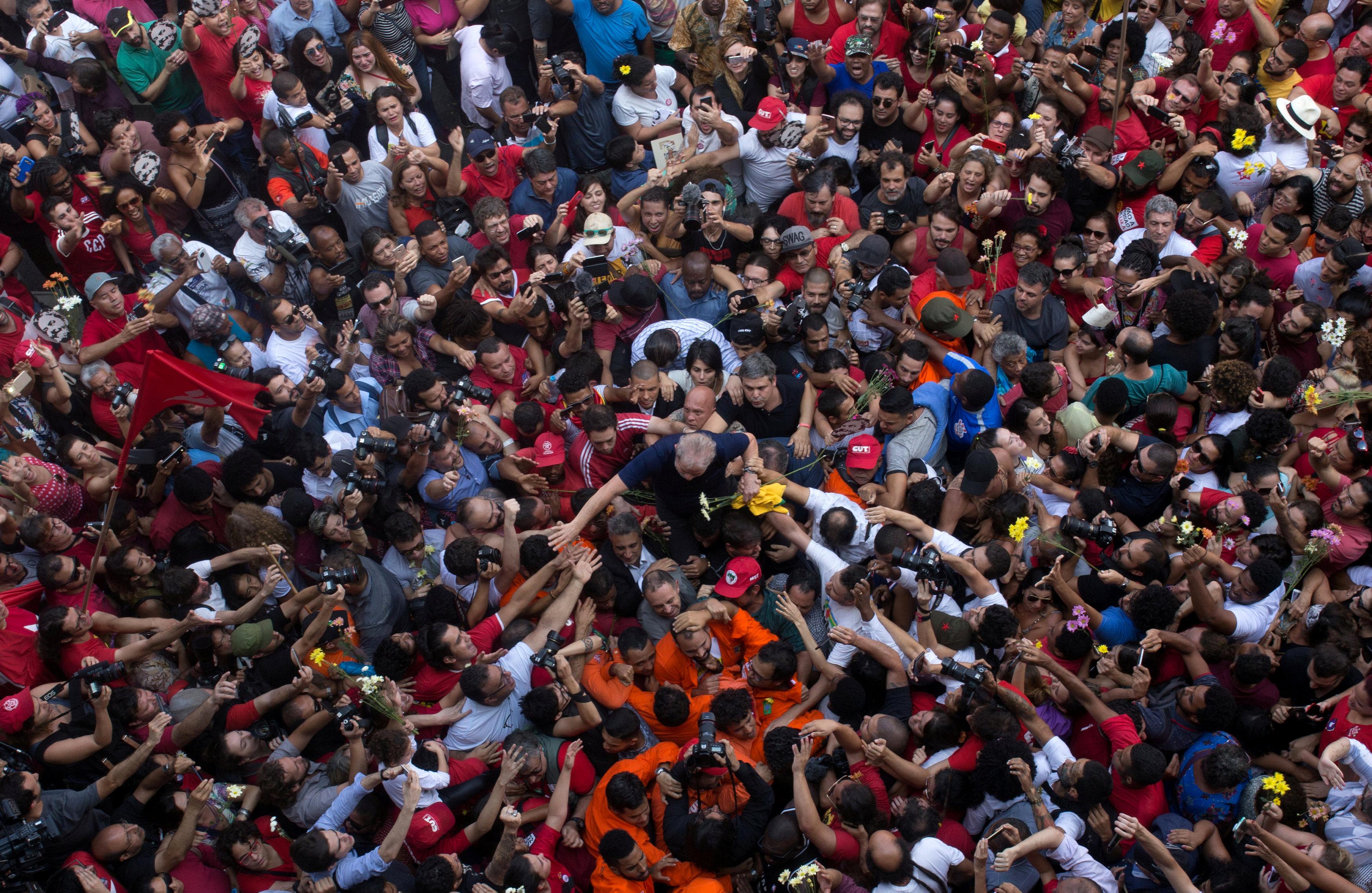 Julgamento do ex-presidente Luiz Inácio Lula da Silva também foi permeado por notícias falsas nas redes sociais (Francisco Proer | Reuters)