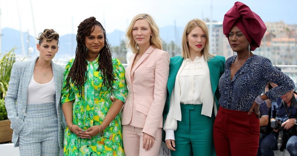 Kristen Stewart, Ava DuVernay, Cate Blanchett (presidente), Léa Seydoux e Khadja Nin lideram a presença feminina no júri do 71º Festival de Cannes (Foto: Getty Images)