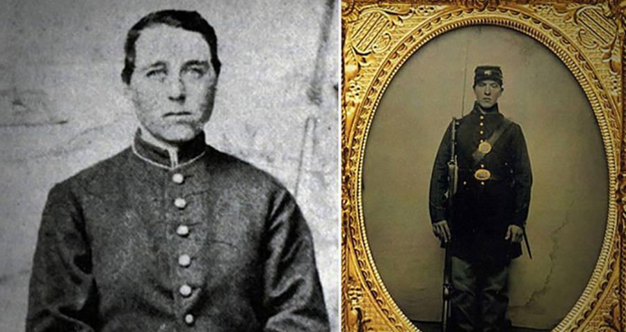 Albert Cashier foi registrado como mulher, mas se travestiu de homem para lutar na Guerra Civil e manteve a identidade masculina até o fim de sua vida (Foto: Reprodução)