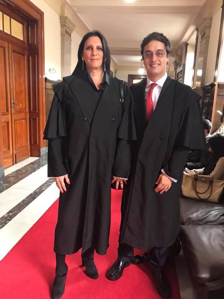 Márcia Rocha e Paulo Iotti formaram o time de advogados que representou Laerte na ação contra Reinaldo Azevedo, Veja e Jovem Pan (Foto: Reprodução Facebook)
