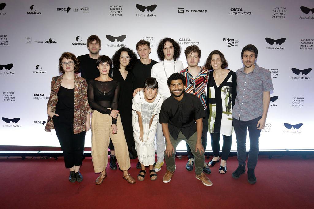 """Depois de levar o Teddy no Festival de Berlim, equipe de """"Tinta Bruta"""" apresenta o longa no Festival do Rio (Foto: Rogerio Resende)"""