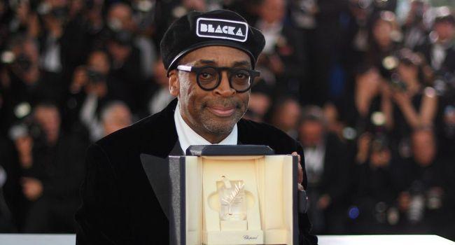 """Spike Lee durante exibição de """"Infiltrado na Klan"""" no Festival de Cannes deste ano (Foto: Reprodução)"""