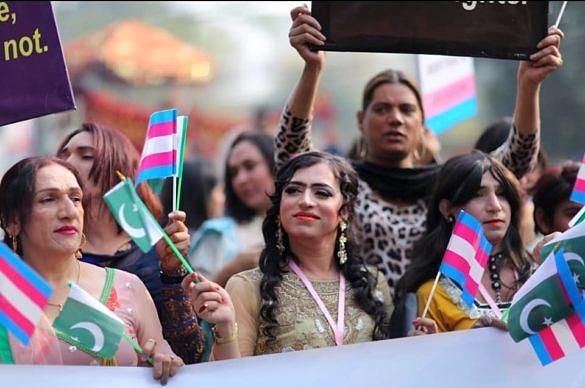 Paquistão tem primeira Parada do Orgulho Trans em toda a sua história (Foto: Queeristan | Reprodução)