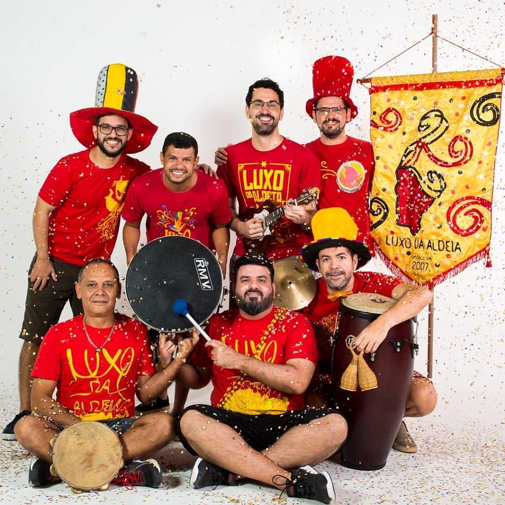 No domingo, o imperdível bloco Luxo da Aldeia leva para a folia o melhor dos compositores cearenses (Foto: Ribamar Neto | Divulgação)