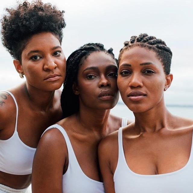Se juntas já causam: Aya Bass, trio formado por Larissa Luz, Xênia França e Luedji Luna, terá apresentação tripla no carnaval de Salvador (Foto: Divulgação | Caroline Lima)