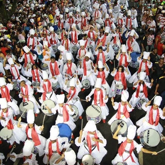 Cortejo Afro desfilará três vezes durante o carnaval baiano de 2019 (Foto: Reprodução Facebook)