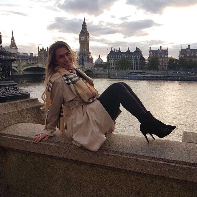 Há dois anos, Patrícia vive em Londres, onde trabalha como cabeleireira (Foto: Reprodução Instagram)