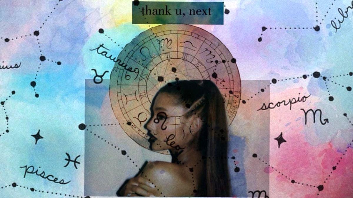 Os 12 signos em thank u, next, da Arianna Grande