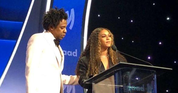 Beyoncé e Jay-Z se emocionaram durante o GLAAD Awards