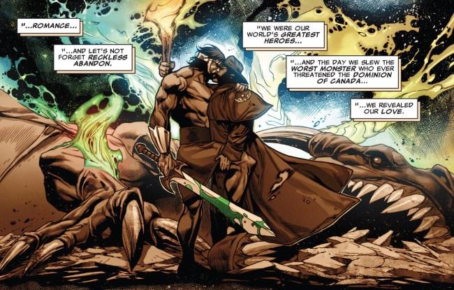 Nos quadrinhos, Hercules já viveu um romance com Wolverine (Foto: Reprodução)