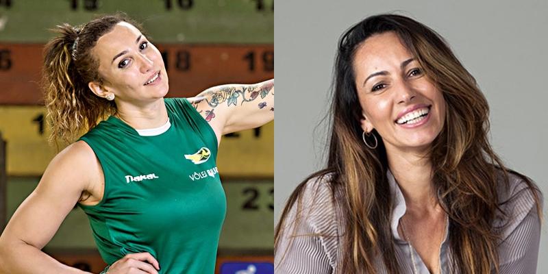 Ana Paula Henkel (dir.) afirma que Tifanny Abreu provocou aumento de presença trans no vôlei feminino e é desmentida pela CBV (Foto: Reprodução)