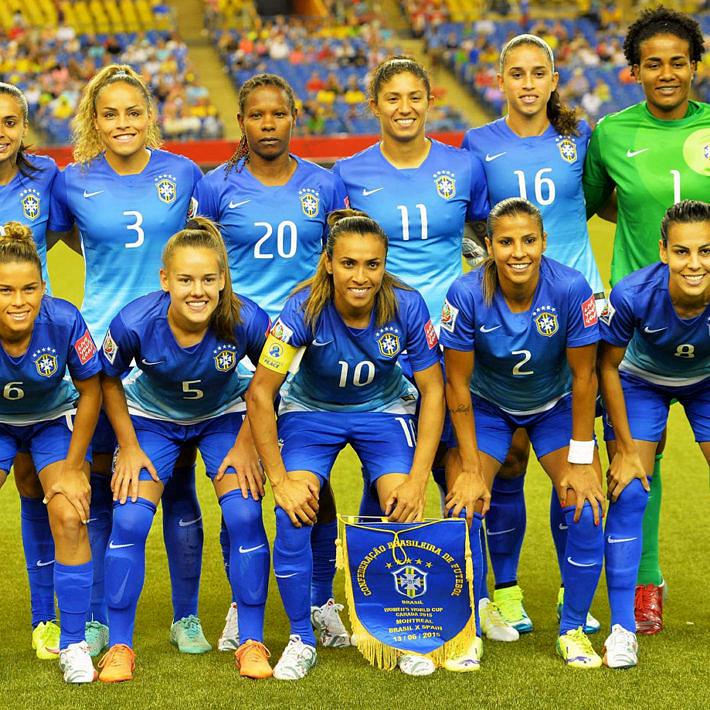Seleção Brasileira de Futebol Feminino (Foto: Reprodução | CBF)