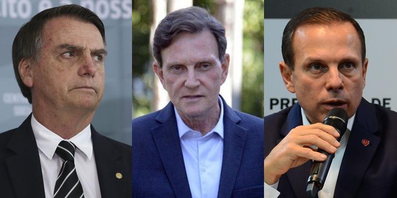 Bolsonaro, Crivella e Doria protagonizaram episódios de censura a LGBTs no último mês