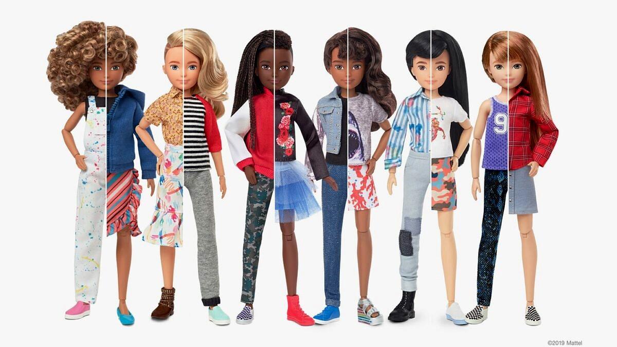 """Mundo Criativo: Mattel lança primeira linha de bonecas """"sem gênero"""" (Foto: Divulgação)"""