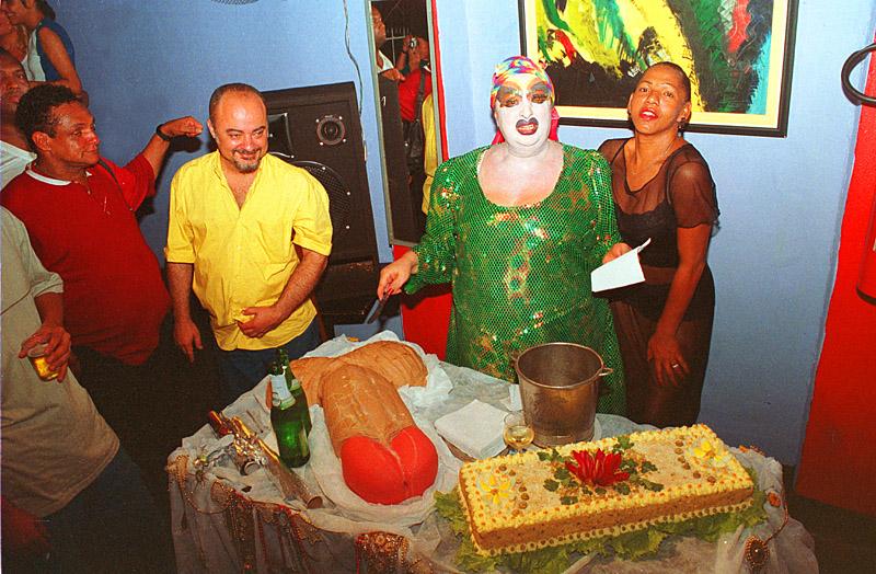 Aniversário Laura de Vison, 2007 (Foto: Pedro Stephan | Arquivo Pessoal)1