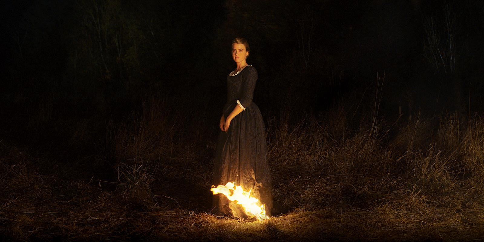 Retrato de uma jovem em chamas