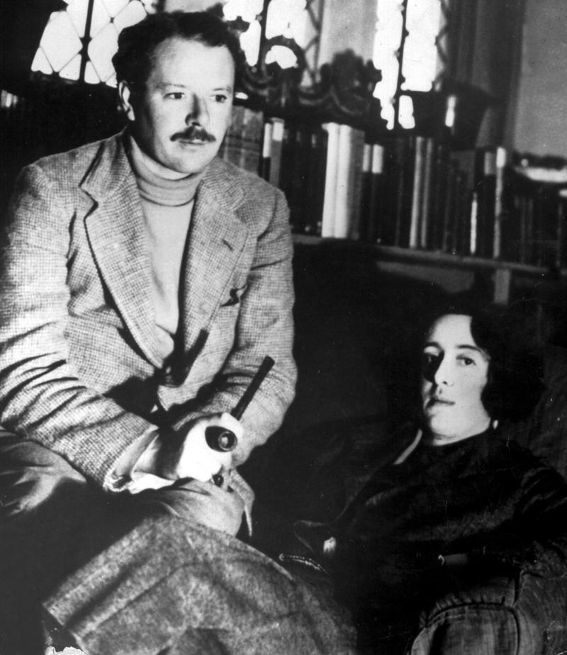 Harold Nicolson e Vita Sackville-West (Foto: Reprodução)