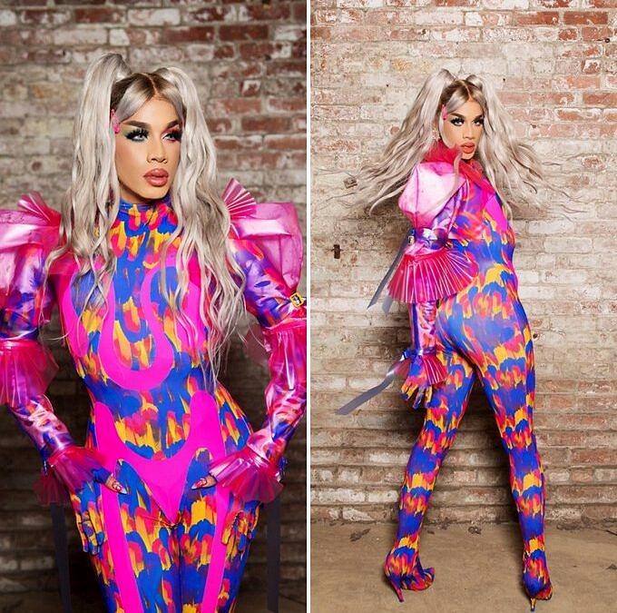 Trabalhada na sensualidade, Dahlia Sin é filha de Aja, uma das melhores queens da 9ª temporada de RPDR, e começou a se montar como club kid antes de se tornar uma das concorrentes mais populares no Instagram, com mais de 60 mil seguidores