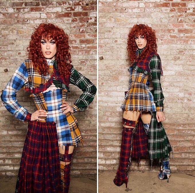 Acostumada a se montar desde os 15 anos, Gigi Goode é de Los Angeles e assume o posto de queen fashionista da edição