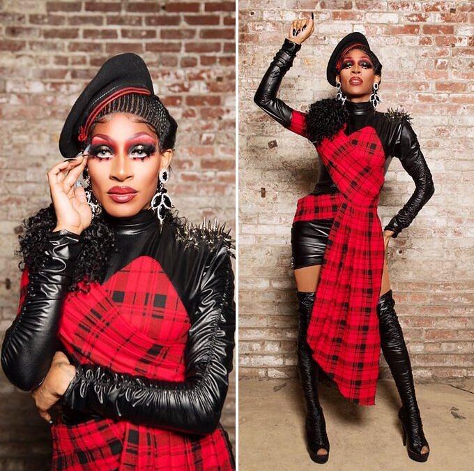 Jaida Essence Hall se considera eclética, levando sua drag do sombrio à vencedora do concurso de beleza, com 10 anos de carreira