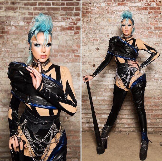 Fashionista de Nova York nascida na França, Nicky Doll define sua estética como uma