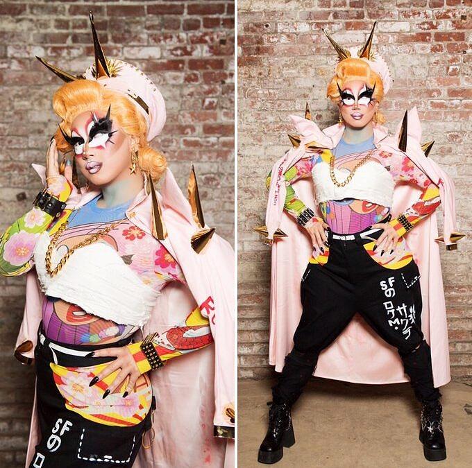 Se você não deduziu pelo nome e pelo look, Rock M. Sakura é a otaku da edição, apaixonada por Naruto, k-pop e video games