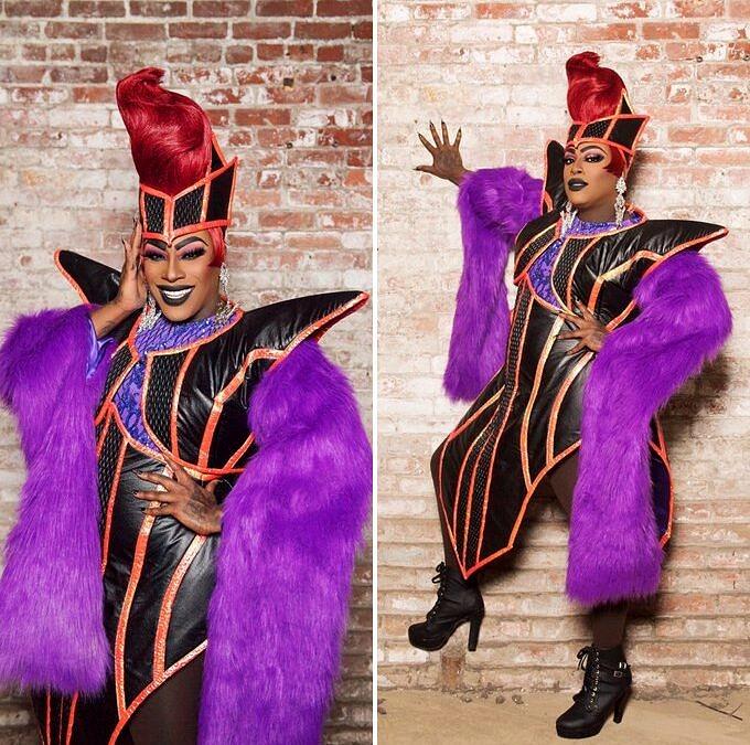 Widow Von'Du se define como uma barraqueira em high fasion que superou o vício em drogas e está há 10 anos se dividindo entre os shows de drag, uma carreira na música e dois namorados