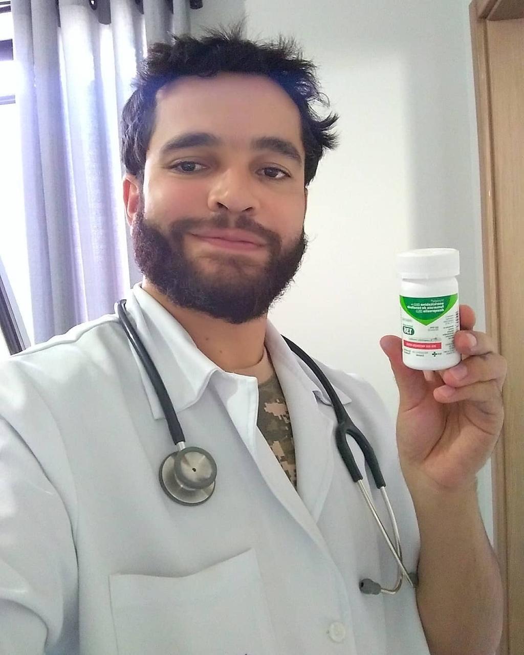 O infectologista Vinícius Borges, criador do canal Doutor Maravilha (Foto: Arquivo Pessoal)