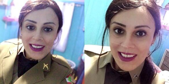 Em Santa Catarina, Priscila Diana é a primeira policial trans na Polícia Militar (Foto: Arquivo Pessoal)