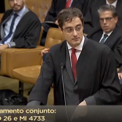 Paulo Iotti durante o julgamento do STF que incluiu a homotransfobia na Lei Antirracismo