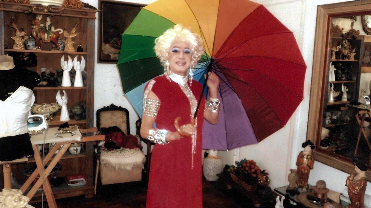 Drag pioneira no Brasil, Miss Biá morre vítima do coronavírus (Arquivo Pessoal)