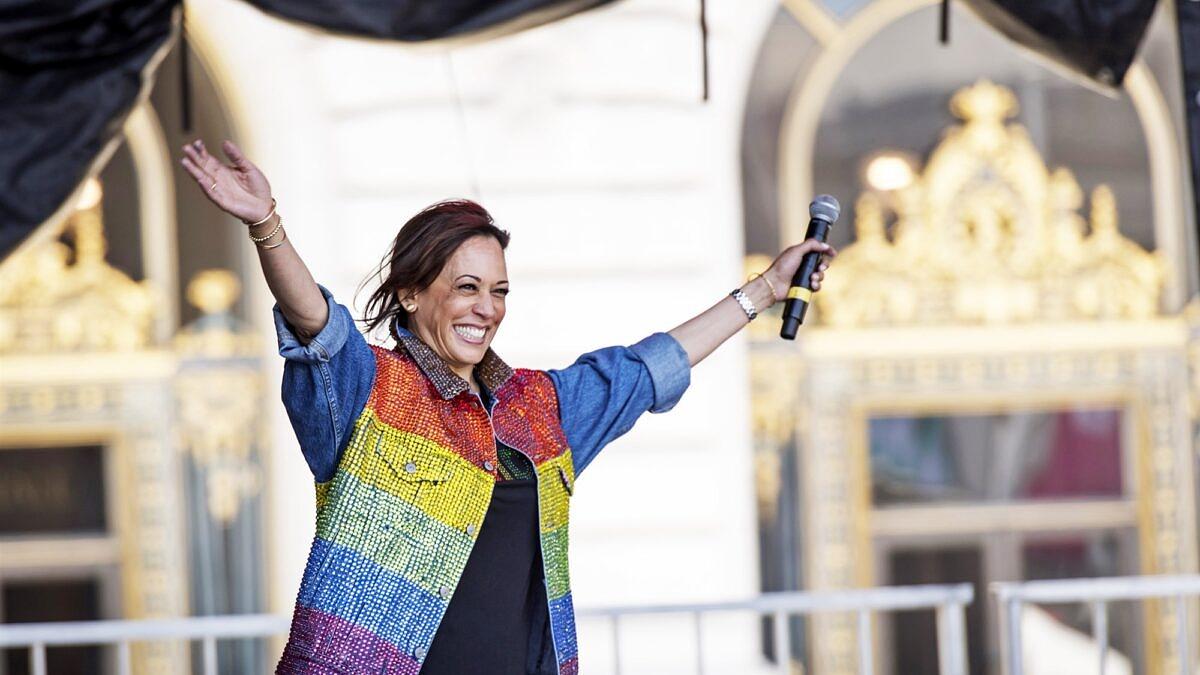 Kamala Harris ajudou a mudar a história e os direitos de LGBTs nos EUA