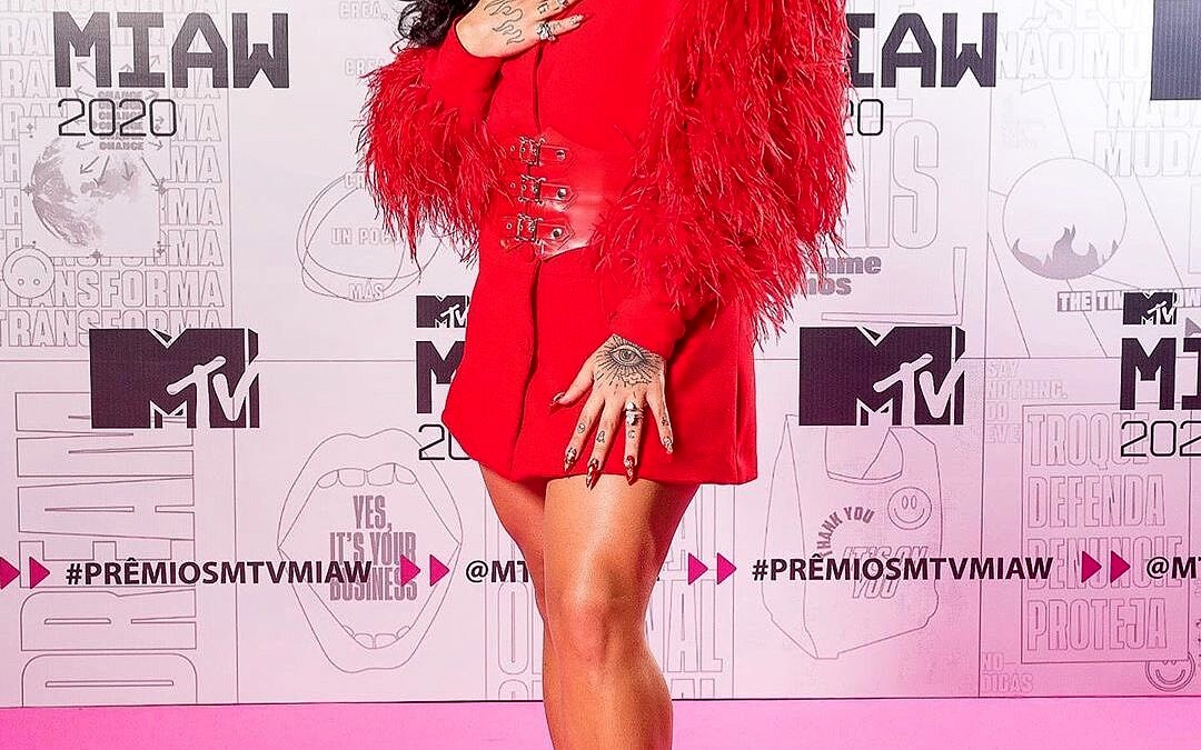 Gloria Groove no MTV Miaw 2020