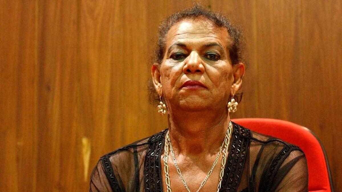 Em 1992, Kátia Tapety foi a primeira travesti eleita na política do Brasil (Foto: Divulgação)