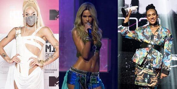Pabllo Vittar, Bruna Marquezine e Linn da Quebrada estão entre os destaques do MTV Miaw 2020 (Fotos: Divulgação | Reprodução)