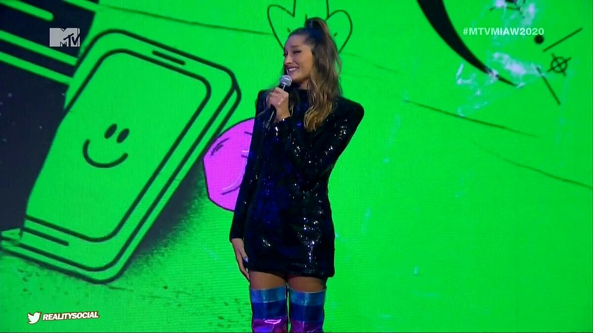 Sasha Meneghel no MTV Miaw 2020