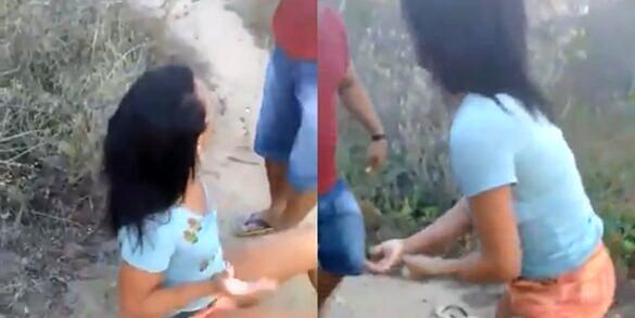Travesti açoitada e agredida com chicote em Santa Cruz, no Rio Grande do Norte, já foi acolhida e passa bem