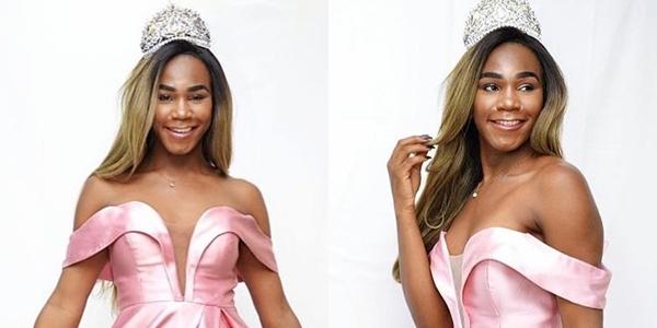 Presidente do Conselho LGBTI_+ de Niterói, Eloá Rodrigues foi eleita a Miss Beleza T Brasil de 2020 (Foto: Reprodução)