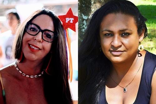 Regininha e Lins Robalo se elegem pelo PT no Rio Grande do Sul (Fotos: Reprodução)